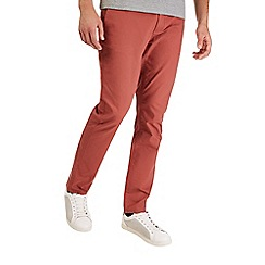 Burton - Orange stretch slim fit chinos