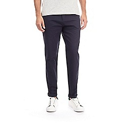 Burton - Navy tapered fit chinos