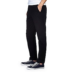Burton - Black straight chinos