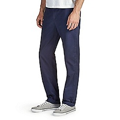 Burton - Navy straight chinos