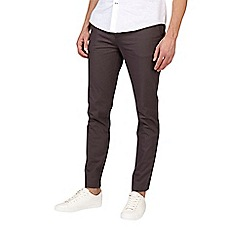 Burton - Charcoal skinny fit chinos