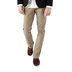 Burton - Taupe stretch chinos