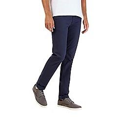 Burton - Navy stretch skinny fit chinos