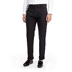 Burton - Black straight fit chinos