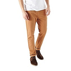 Burton - Brown slim chinos