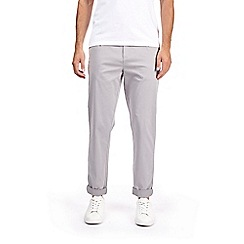 Burton - Grey tapered fit chinos