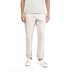 Burton - Stone tapered fit chinos