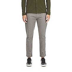 Burton - Grey tapered stretch chinos