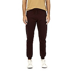Burton - Burgundy slim fit joggers