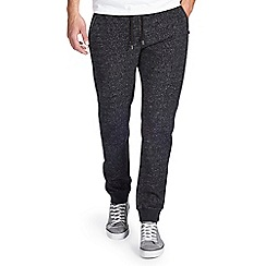 Burton - Black salt & pepper joggers