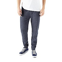 Burton - Blue & grey textured joggers