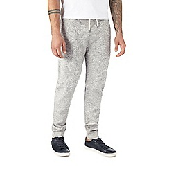 Burton - Grey textured joggers