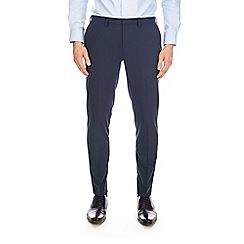 Burton - Blue skinny fit stretch trousers