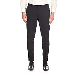 Burton - Black longer length skinny fit stretch trousers