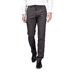 Burton - Charcoal twin pack trousers