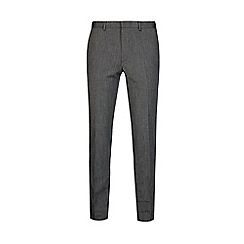 Burton - Grey skinny fit jaspe trousers