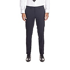 Burton - Navy super skinny fit stretch trousers