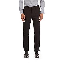 Burton - Black skinny fit flecked trousers