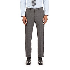 Burton - Grey skinny fit bold checked trousers