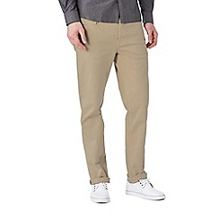 Burton - Stone coloured skinny fit jeans