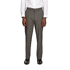 Burton - Regular fit light grey trousers
