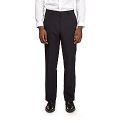 Burton - Regular fit navy trousers