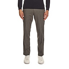 Burton - Slim fit light grey trousers