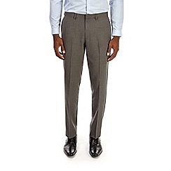 Burton - Grey slim fit pin striped trousers