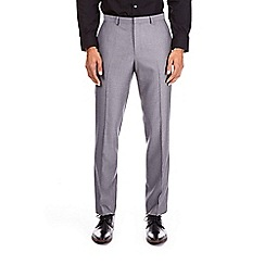 Burton - Charcoal slim fit pindot trousers