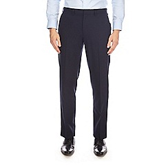 Burton - Navy tailored fit trousers