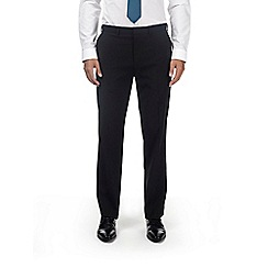 Burton - Black tailored fit stretch trousers