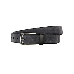 Burton - Montague burton grey suede belt