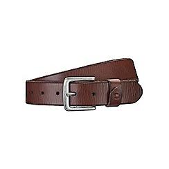 Burton - Brown leather keeper detail
