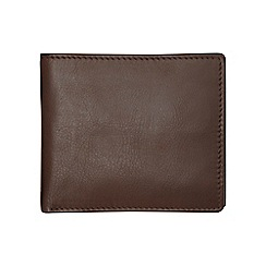 Burton - Brown leather premium wallet