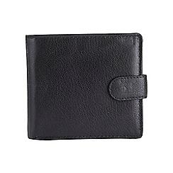 Burton - Black bifold wallet