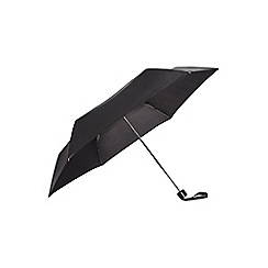 Burton - Black lightweight compact umbrella