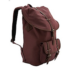 Burton - Burgundy rucksack