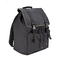 Burton - Grey clip rucksack