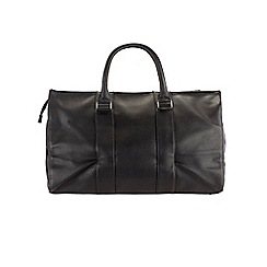 Burton - Black textured holdall