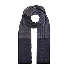 Burton - Navy formal scarf