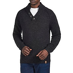 Burton - Charocal twist funnel neck jumper