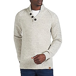 Burton - Oatmeal funnel neck jumper