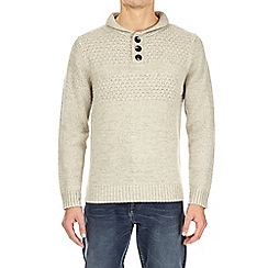 Burton - Ecru knitted jumper
