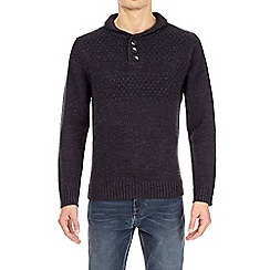 Burton - Navy knitted jumper