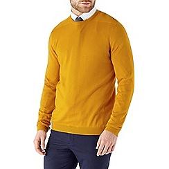 Burton - Yellow crew neck jumper
