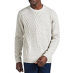 Burton - Frost classic cable knit jumper