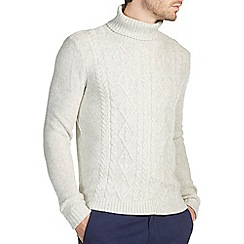Burton - Frost cable roll neck jumper