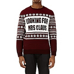 Burton - Red looking for Mrs Claus Christmas jumper