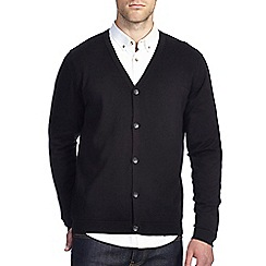 Burton - Black knitted cardigan