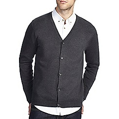 Burton - Charcoal knitted cardigan
